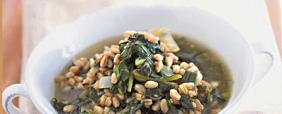 di-erbe-miste-e-farro-agli-aromi ricetta