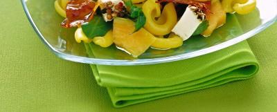 dischi-volanti-con-prosciutto-croccante-e-melone ricetta