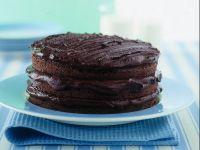 dolce-al-cacao-con-uvetta-pere-e-rum preparazione