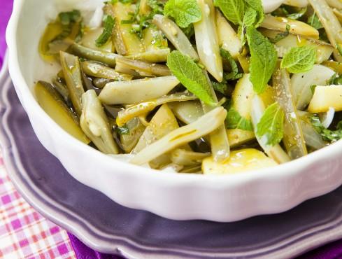 fagiolini-zucchine-e-taccole-in-agrodolce
