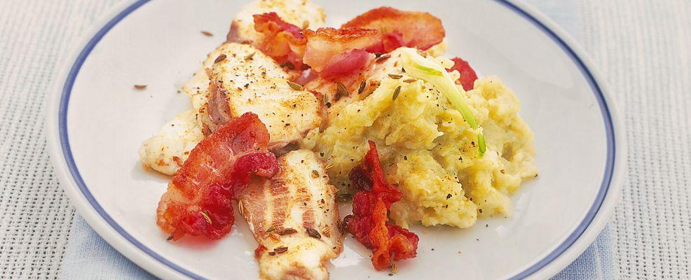 filetti di orata con bacon e crema di finocchi ricetta Sale&Pepe