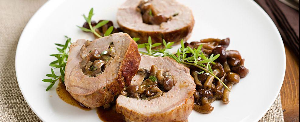 filetto di maiale farcito ai chiodini Sale&Pepe ricetta
