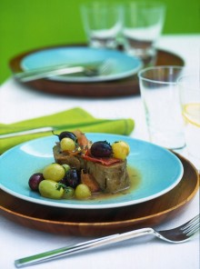 Filetto di maiale in salsa d'uva