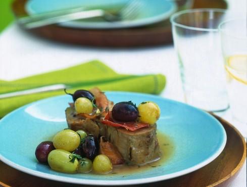filetto di maiale in salsa d'uva Sale&Pepe ricetta