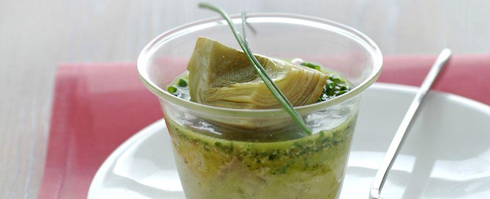 flan-morbido-con-uova-ed-erba-cipollina ricetta