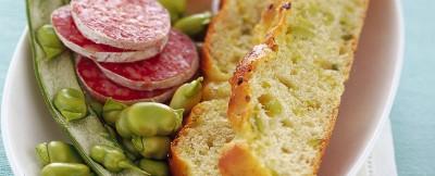 focaccia-rustica-con-pecorino-e-salame ricetta