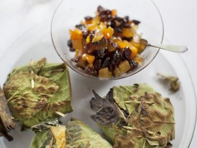 formaggini-di-capra-con-uvetta-e-mostarda