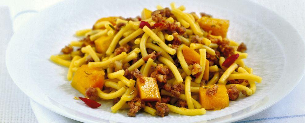 foto gramigna-con-zucca-e-salsiccia