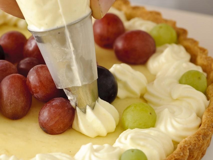 foto pasta base e cottura della crostata Sale&Pepe