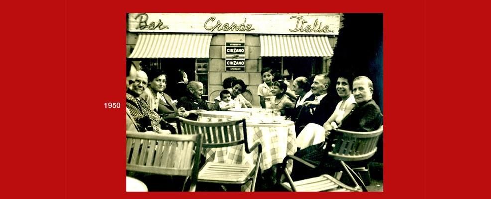 Mostra - Bar Grande Italia, anni '50