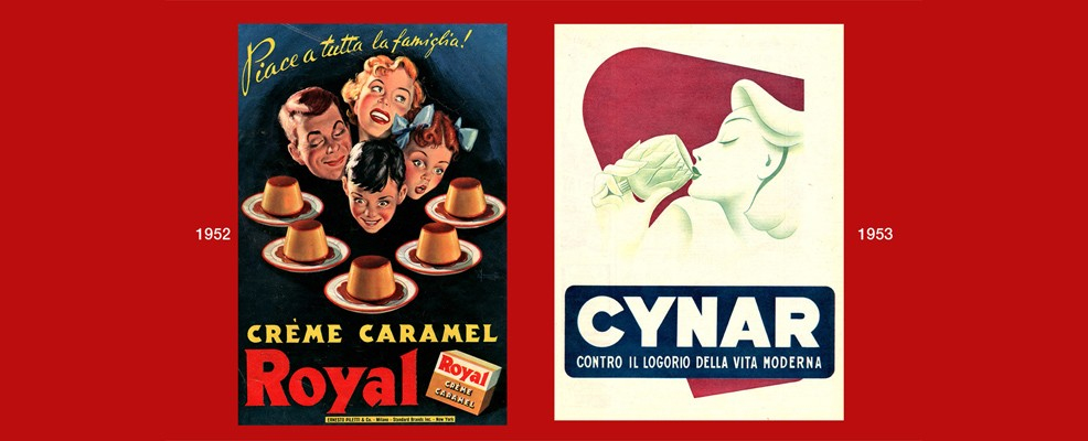 Mostra - Royal 1952 e Cynar 1953