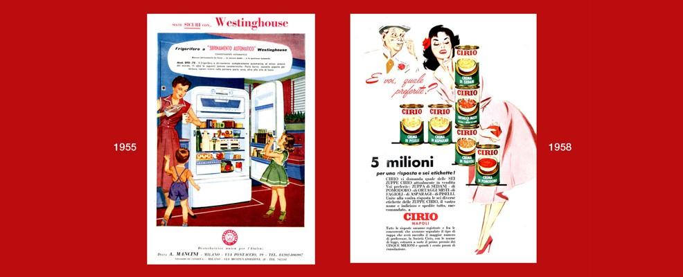 Mostra - il frigorifero Westinghouse