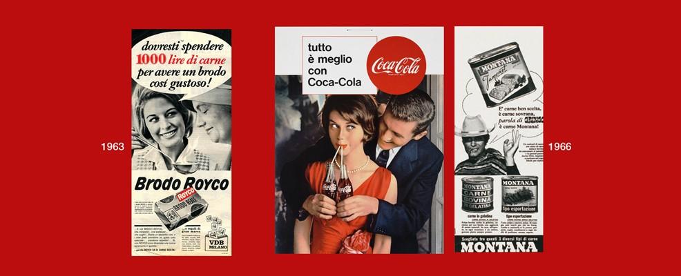 Mostra - Al centro Coca-Cola 1966