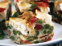 frittata-al-forno-con-verdure-e-formaggio-di-capra ricetta Sale&Pepe