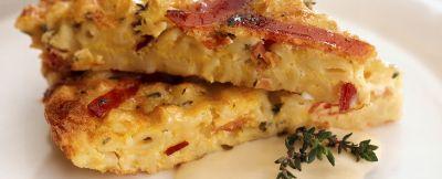 frittata-di-speck-al-timo-con-salsa-di-formaggio