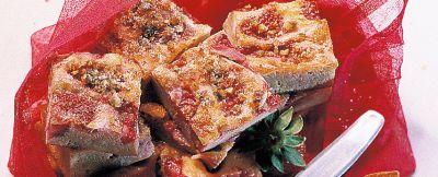frittata dolce con fragole e pistacchi ricetta