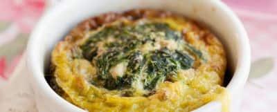 Frittatine con spinaci, uvetta e pinoli immagine