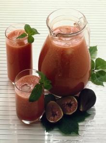 Frullato di anguria e fichi