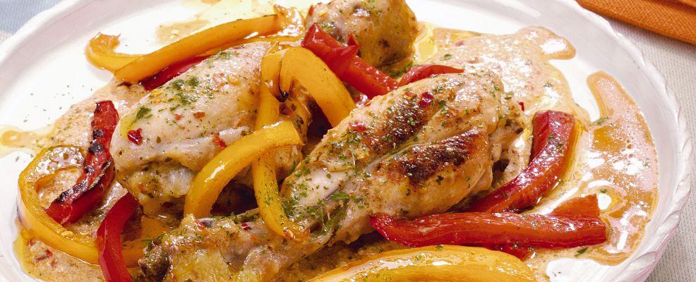 fusi di pollo ai peperoni Sale&Pepe ricetta