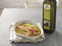 gamberoni-in-guazzetto-alle-erbe-e-agrumi ricetta