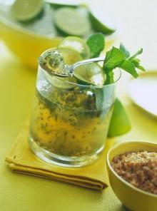 La gelatina morbida di lime al Mojito