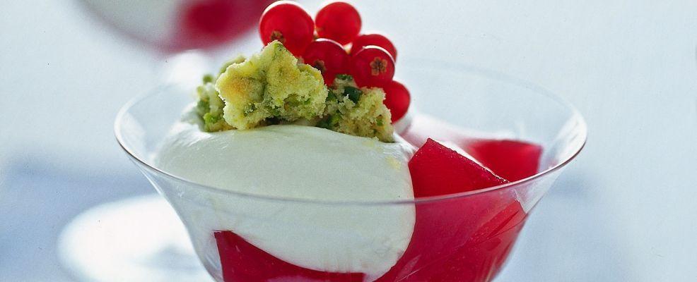 gelatine-di-ribes-con-panna ricetta