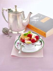 Il gelato fiordilatte al tè