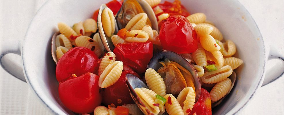 gnocchetti-sardi-alle-vongole ricetta