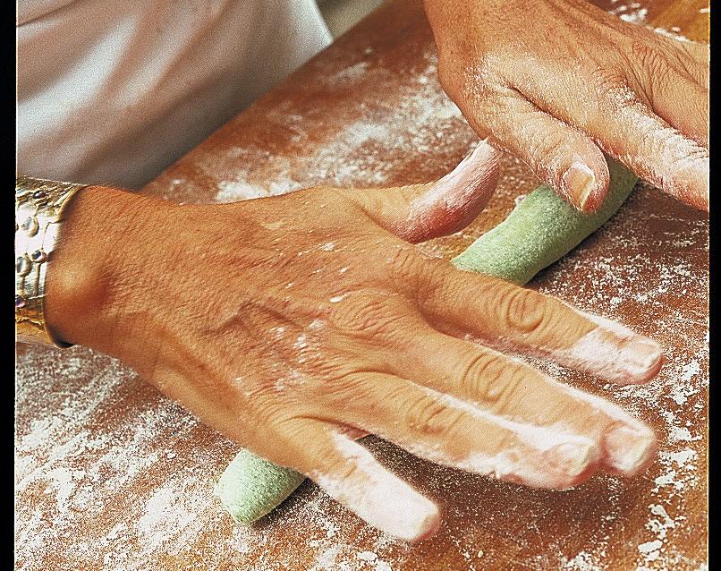 gnocchi-colorati preparazione
