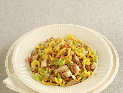gramigna-con-la-verza ricetta