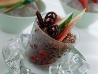 granita di cioccolato alle ciliegie Sale&Pepe ricetta