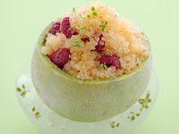 granita-nel-melone-con-lamponi-e-timo-cedrato