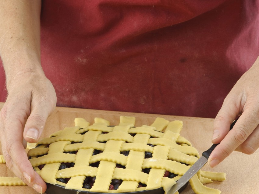 grata incrociata tradizionale per crostata Sale&Pepe immagine