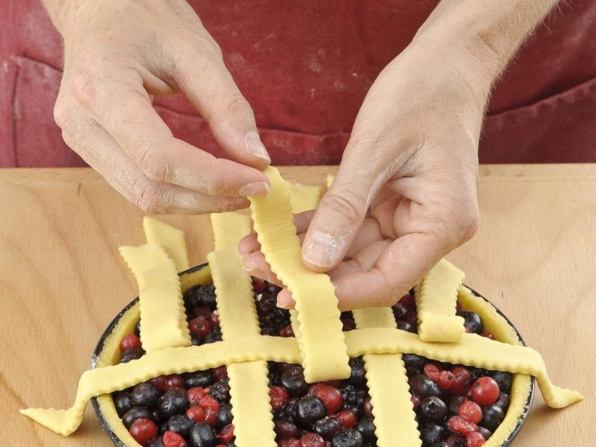 grata incrociata tradizionale per crostata Sale&Pepe ricetta