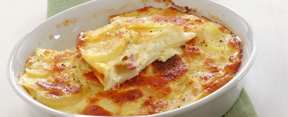 Gratin ricco di patate sale pepe for Ricette con patate