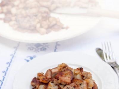 grostl padellata carne patate cipolla