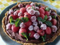 guscio croccante con uva e gelato Sale&Pepe ricetta