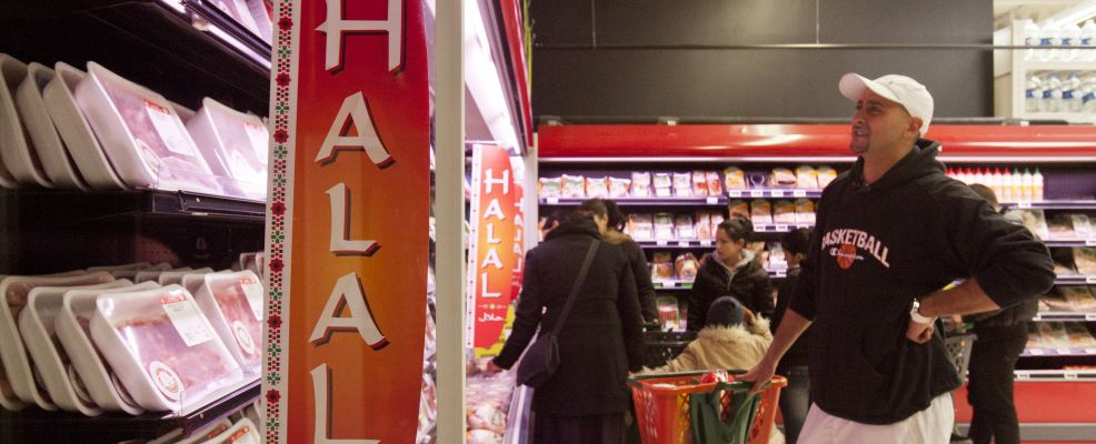 France - Society - Halal Meat on Sale at Supermarket