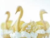 immagine cigni con crema e panna Sale&Pepe