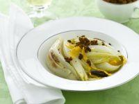 indivia-al-pan-di-spezie-e-arancia ricetta