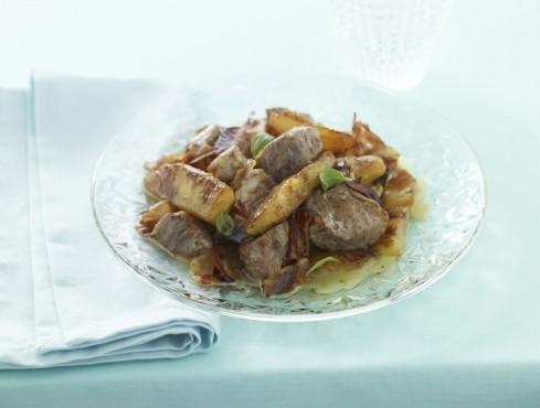 insalata affumicata con filetto di maiale Sale&Pepe ricetta