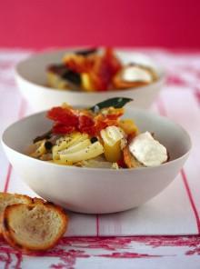 L'insalata calda con speck e mele