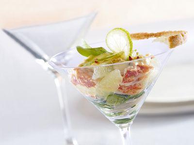 insalata-con-polpa-di-granchio-al-lime ricetta