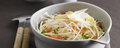 insalata di asparagi bianchi e trota affumicata ricetta