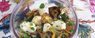 insalata-di-carciofini-arrosto