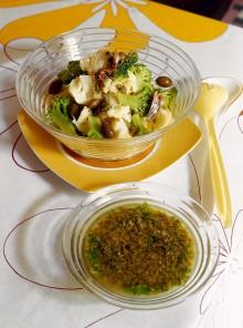 Insalata di cavolfiore e broccoli