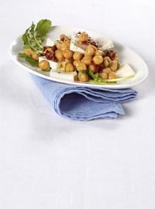 L'insalata di ceci e pomodorini secchi