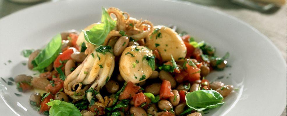 Insalata di fagioli e moscardini for Cucinare moscardini