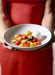 L'insalata di frutta al gelo