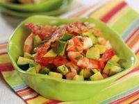 insalata di gamberi al bacon croccante ricetta Sale&Pepe